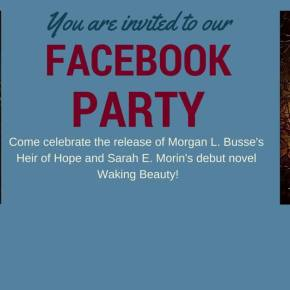 You're invited to a Facebook Party for my book!