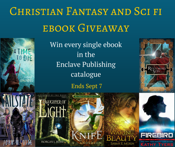 Christian Fantasy and Sci fi Giveaway