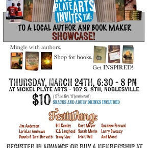 Nickel Plate Arts Author Showcase