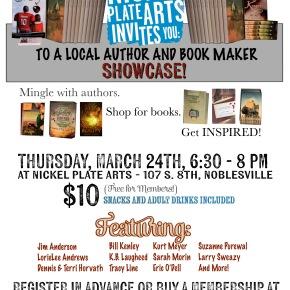 Nickel Plate Arts AuthorShowcase