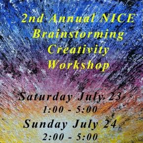 NICE Creativity Workshop July23-24