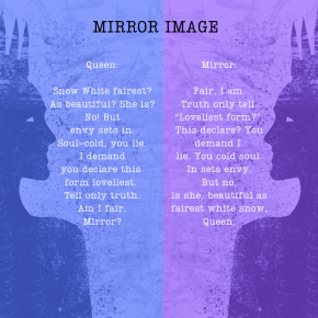 Mirror Image – A Palindrome Poem