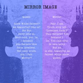 Mirror Image – A PalindromePoem