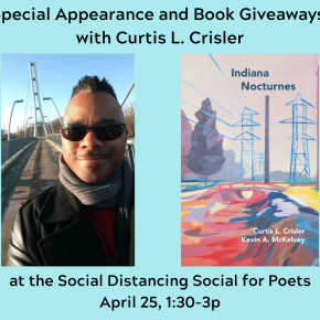 Curtis Crisler to Make Special Appearance at Online Poetry Event – with Giveaways!